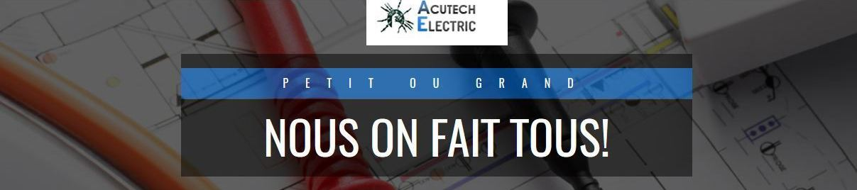 ACUTECH ELECTRIC BANNER
